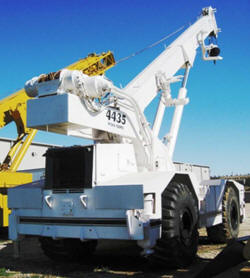 1979 Warner Swasey 4435 Badger 40 Ton 4x4 Cherry Picker Rough Terrain Crane
