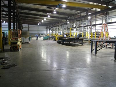 Main Fabrication Bay