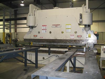 400 Ton Press Brake 14' Long