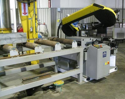 "15""x20"" Degree Miter Semi-Automatic Band Saw"