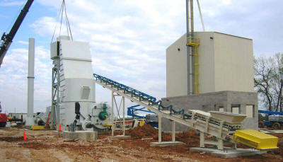 Installation of a Stark Fluid Bed Dryer along with the supply and installation of conveyors and screens (with screen tower) for a frac sand plant.