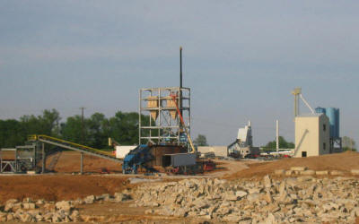 Turnkey of a partial 100 TPH frac sand plant in a seismic 3 zone including: